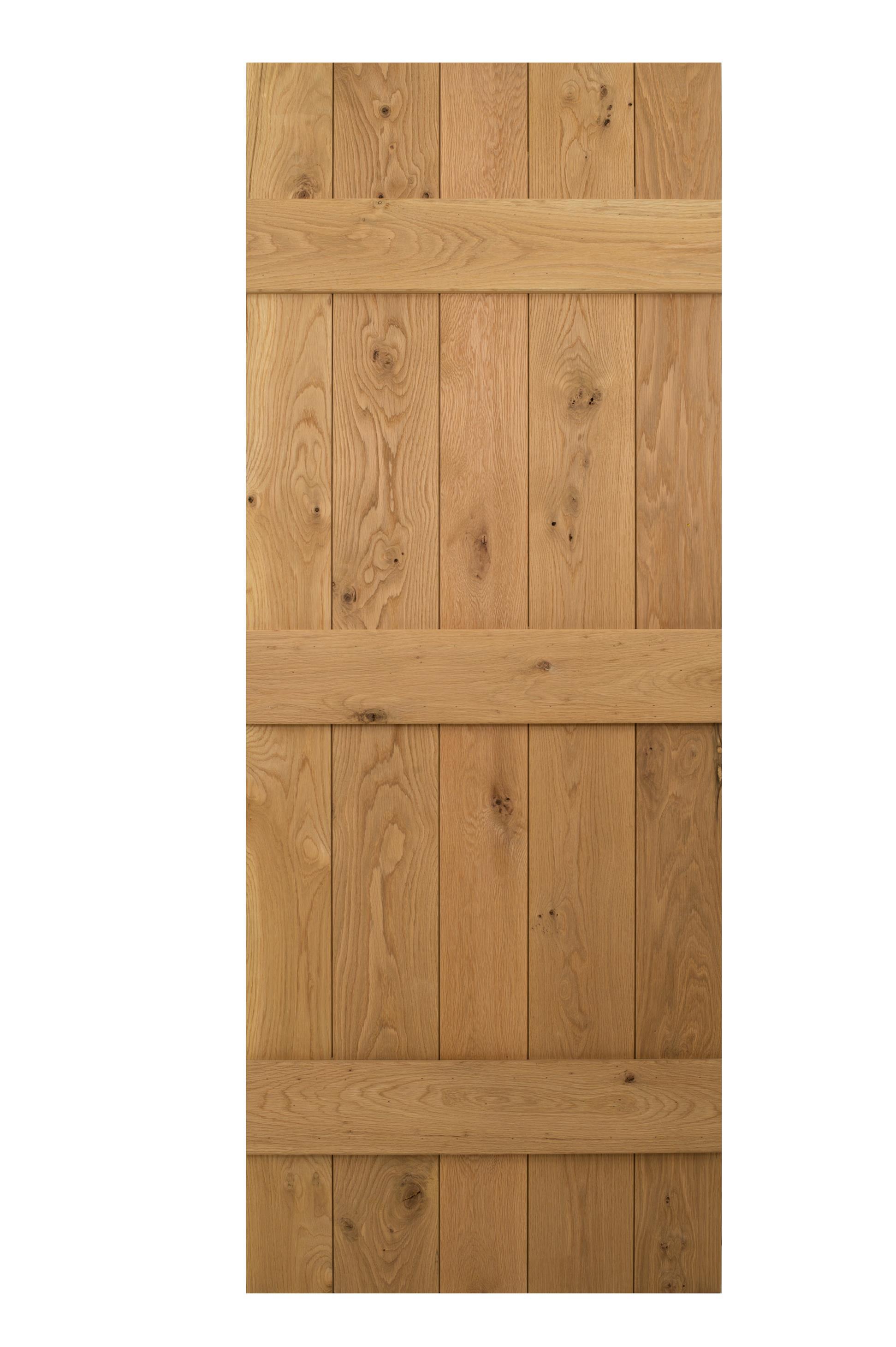 Solid Oak 3 Ledged Cottage Door (Back)  sc 1 st  Blueprint Cottage Doors & Solid Oak 3 Ledged Cottage Door | Blueprint Cottage Doors