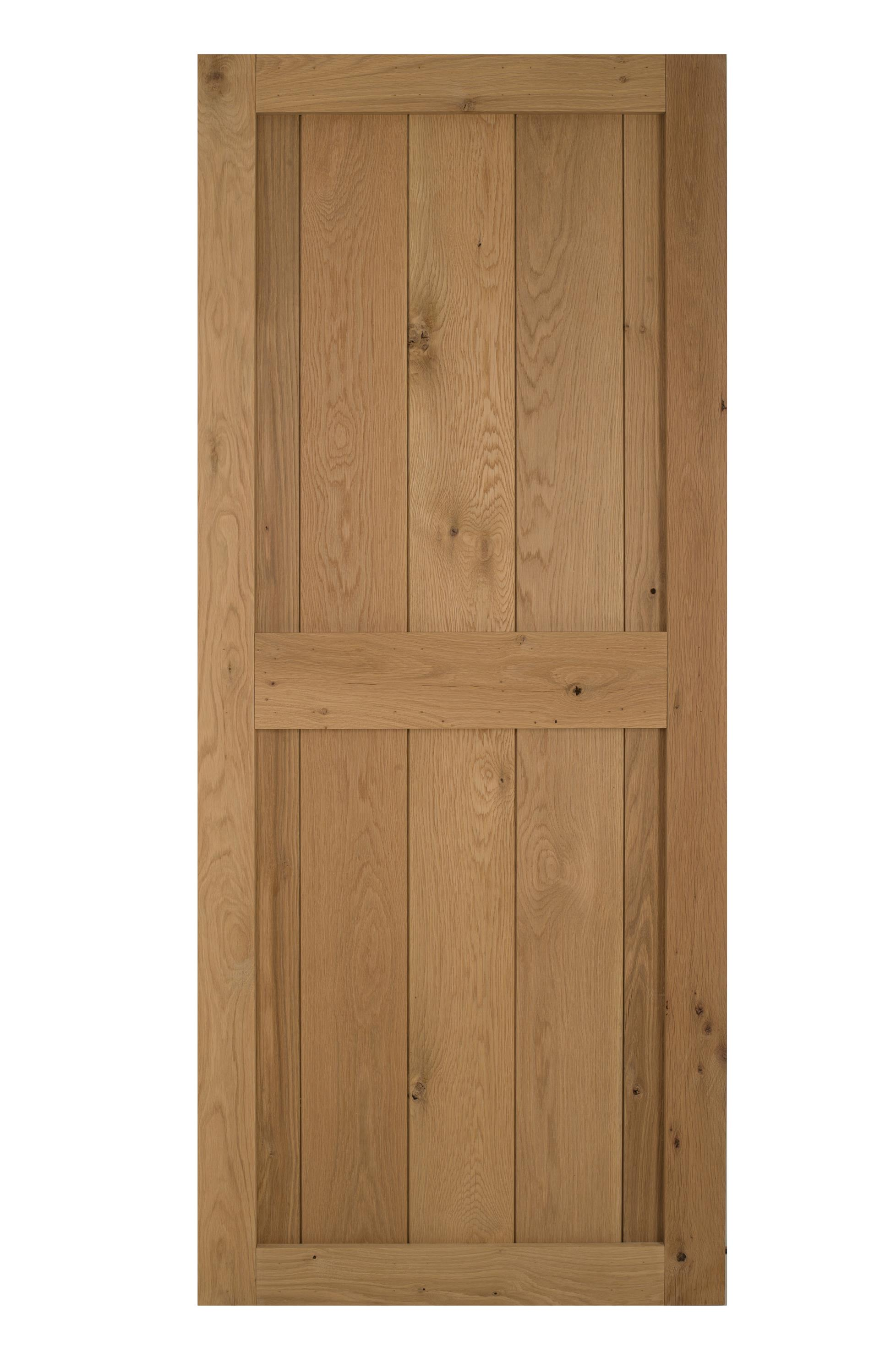Solid oak framed cottage door blueprint cottage doors for Solid oak doors