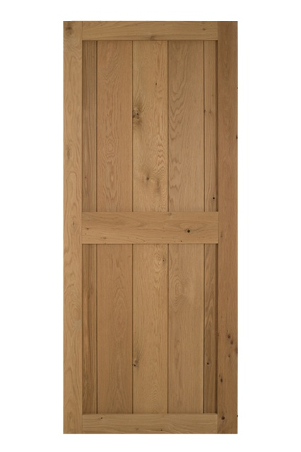 Solid Oak Framed Cottage Door  sc 1 st  Blueprint Cottage Doors & Solid Oak Ledged Cottage Doors Oswestry | Blueprint Cottage Doors