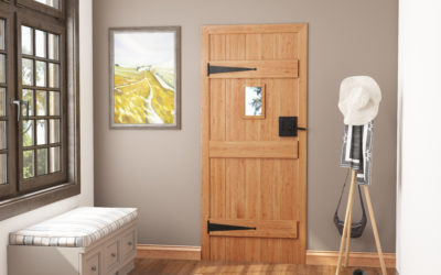 Adding Design to Cottage Doors