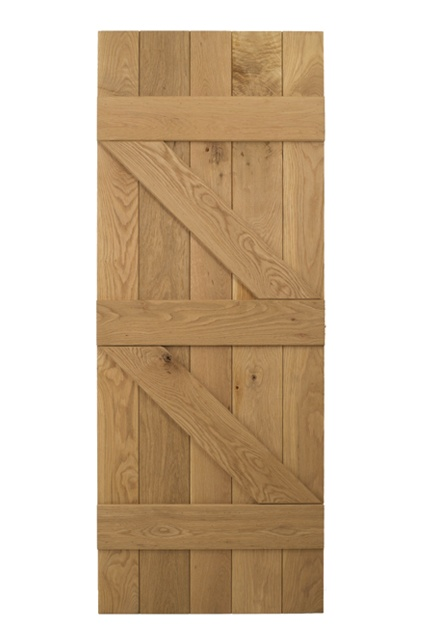 ... Cottage Door. ?. Testing  sc 1 st  Blueprint Cottage Doors & Solid Oak 3 Ledged u0026 Braced Cottage Door | Blueprint Cottage Doors
