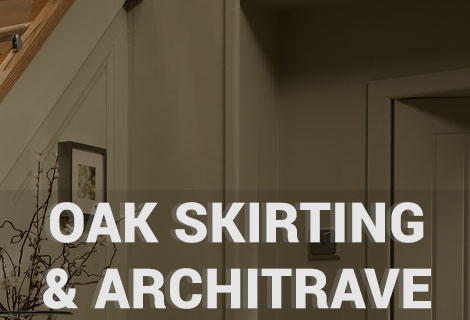 Click here to view our range of oak skirting and architrave perfect for a cottage home.